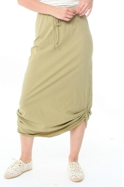 Michelle by Comune Olive Midi Skirt - Product Mini Image
