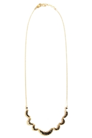Michelle Pressler Black Spinel Necklace - Product Mini Image