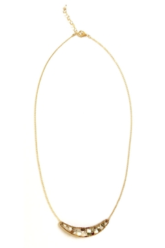 Shoptiques Product: Howlite Crescent Necklace