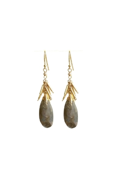 Shoptiques Product: Moonstone Earrings