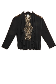 Michelle Lynn Lacey Black Shrug - Product Mini Image