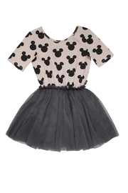 Rock Your Baby Mickey Silhouette Dress - Front cropped