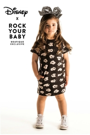 Rock Your Baby Mickey T-Shirt Dress - Front full body