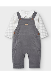 Mayoral Micro-Corduroy Overall Set - Product Mini Image