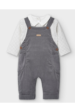 Shoptiques Product: Micro-Corduroy Overall Set