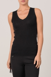 Margaret O'Leary Micro Rib Tank - Front cropped