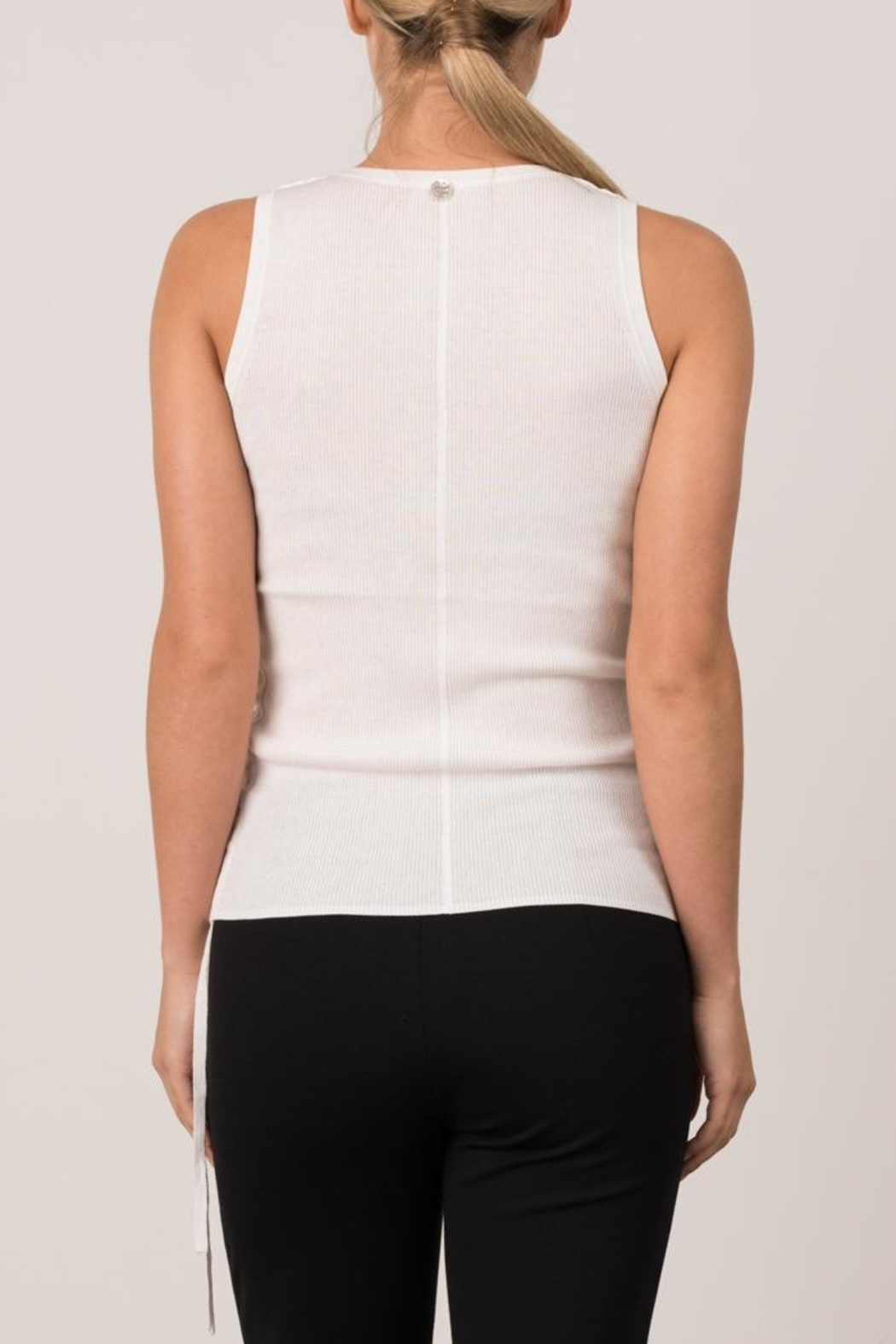 Margaret O'Leary Micro Rib Tank - Side Cropped Image