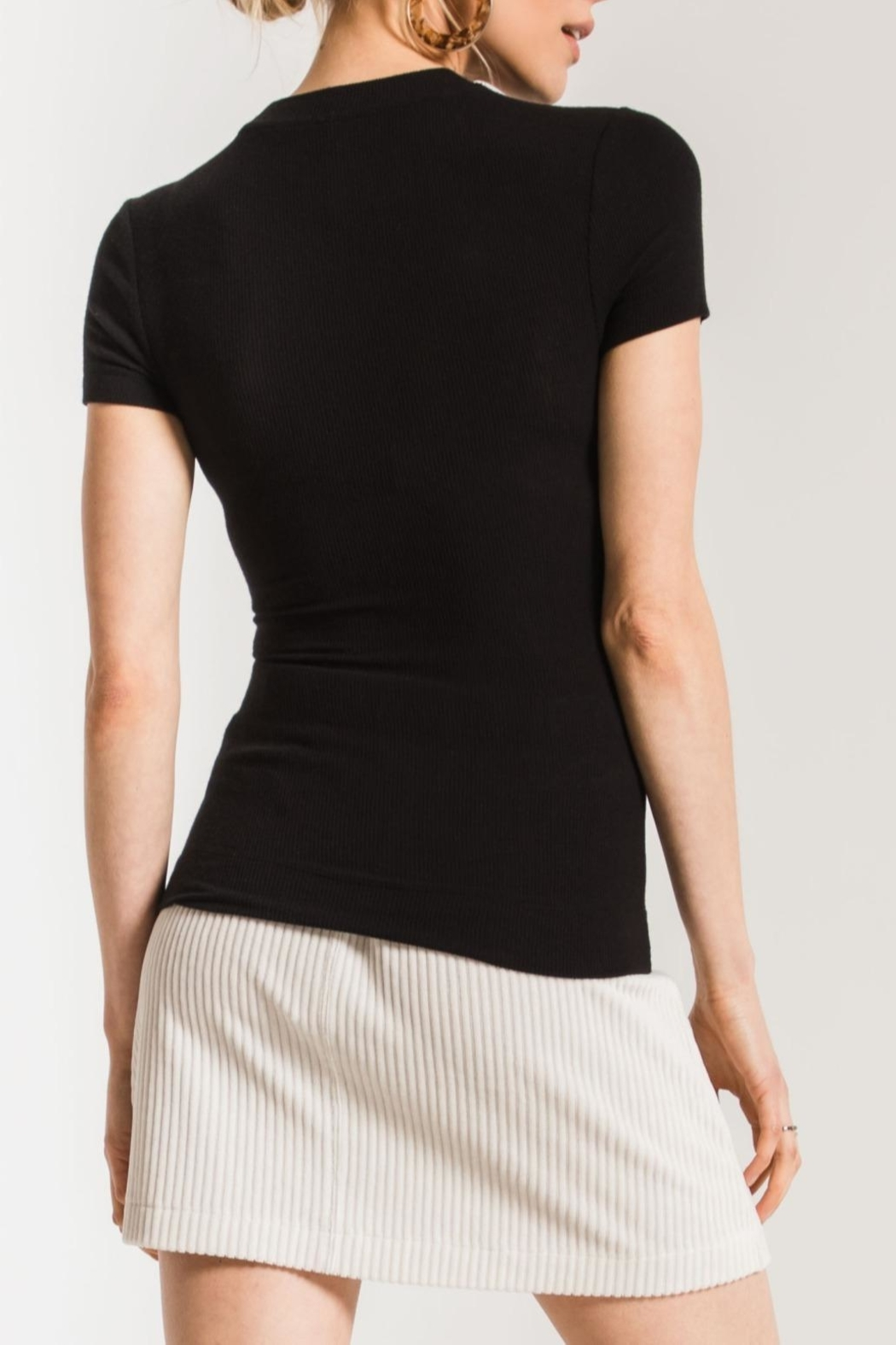 z supply Micro Rib Tee - Side Cropped Image