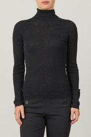Margaret O'Leary Micro Rib Turtleneck - Product Mini Image