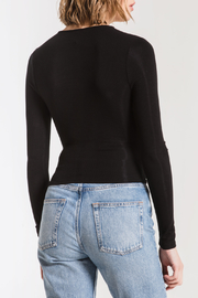 z supply Micro Rib Wrap Top - Side cropped