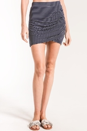 z supply Micro-Stripe Wrap Skirt - Product Mini Image