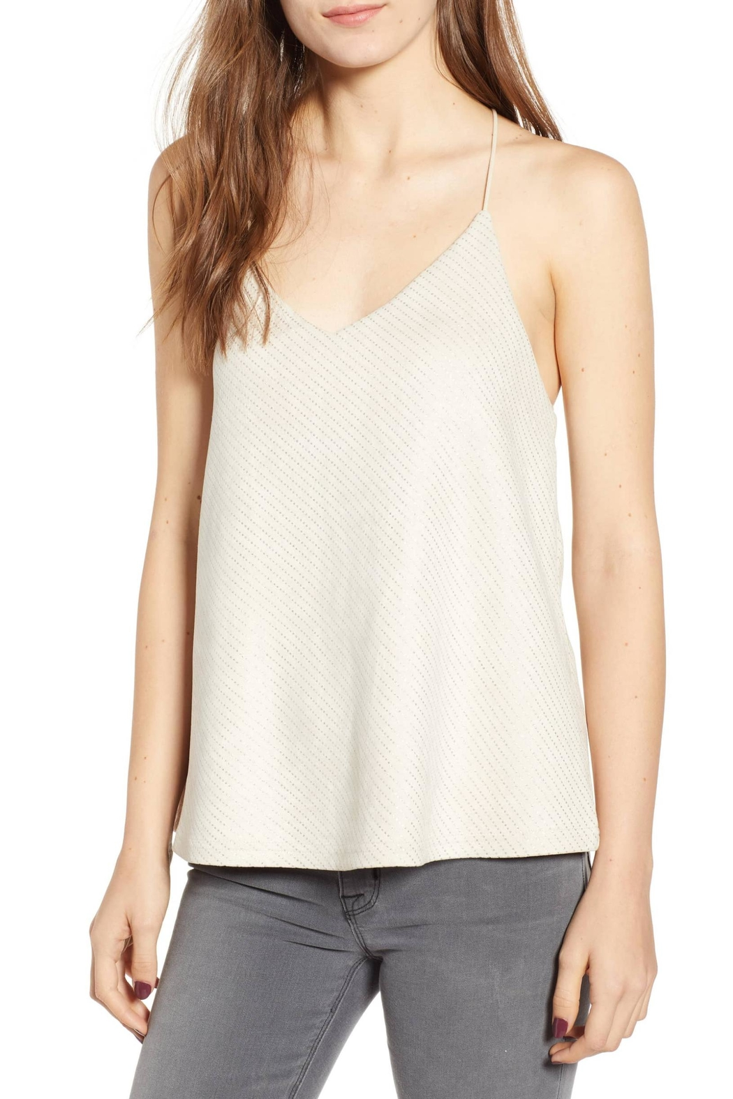Bishop + Young Micro-Stud Faux-Suede Camisole - Main Image