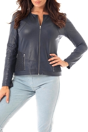 Angel Apparel Microfiber Leather Jacket - Product Mini Image