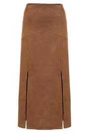 Tribal Microsuede Slit Skirt - Product Mini Image