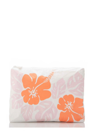 Aloha Collection Mid Big Island Hibiscus Pouch - Front full body