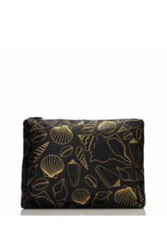 Aloha Collection Mid Black Seashore Pouch - Product List Image