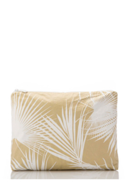 Aloha Collection Mid Day Palms Pouch - Front full body