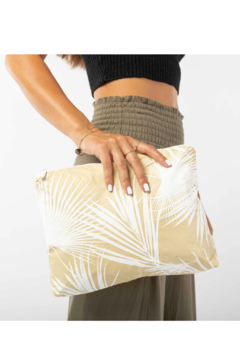Aloha Collection Mid Day Palms Pouch - Product List Image