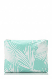 Aloha Collection Mid Day Palms Pouch - Front cropped