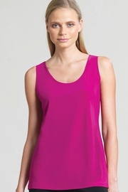 Clara Mid-Length lightweight scoop neck tank top - Product Mini Image