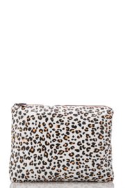 Aloha Collection Mid Leopard Cub Pouch - Front cropped