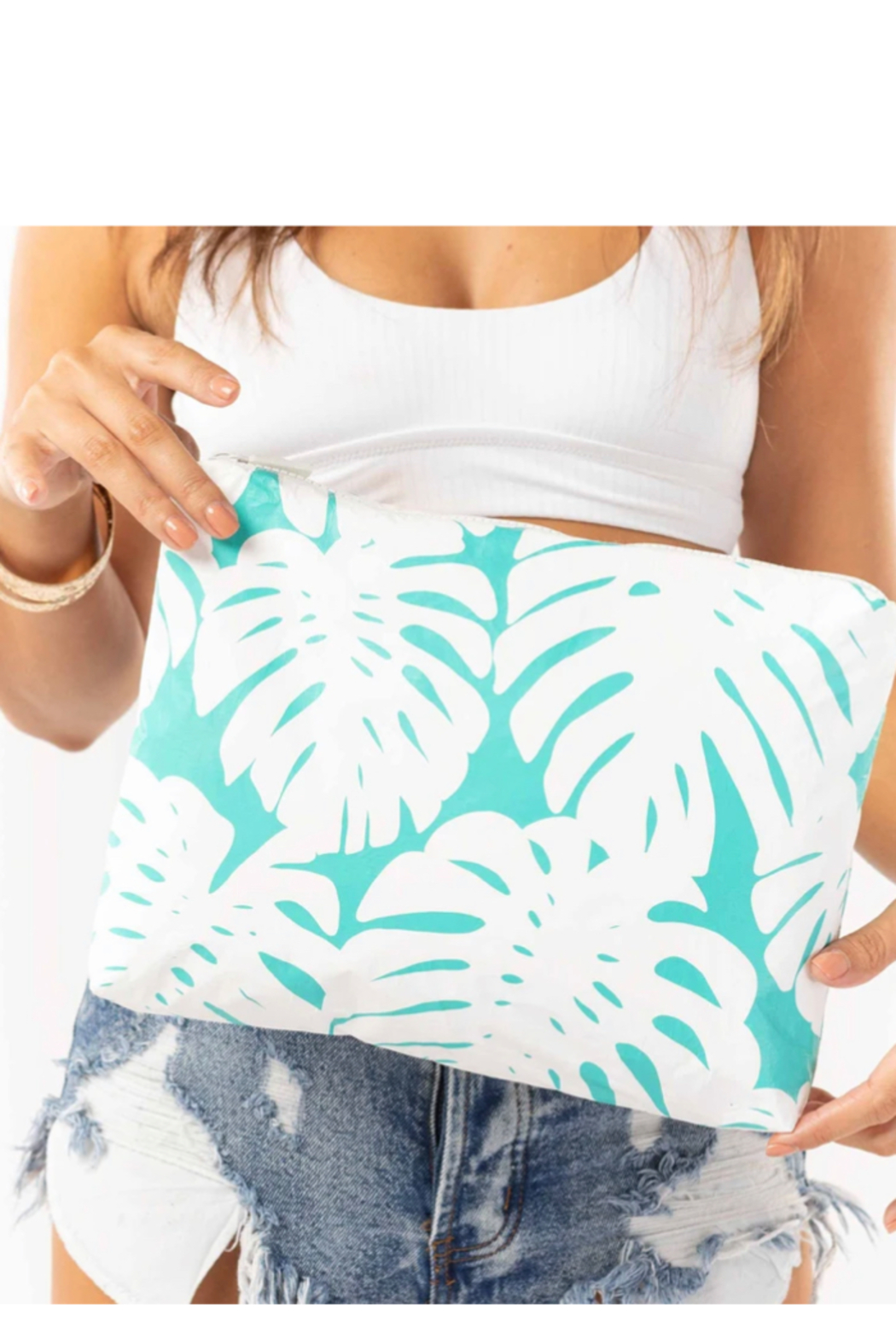 Aloha Collection Mid Manoa Pouch - Front Full Image