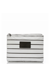 Aloha Collection Mid Pinstripe Pouch - Front cropped