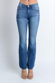 Judy Blue Mid Rise Bootcut Jeans - Product Mini Image