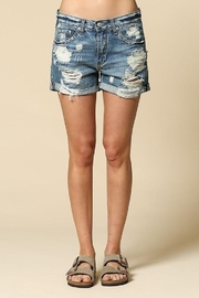 By Together  Mid-Rise Boyfriend short - Product Mini Image