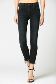 Hidden Jeans Mid Rise Clean Stretch Frayed Hem Skinny - Product Mini Image