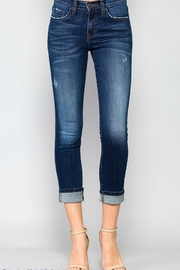 Flying Monkey Mid-Rise Cuffed Denim - Product Mini Image