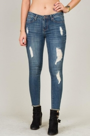 5th Culture Mid-Rise Distressed Denim - Product Mini Image