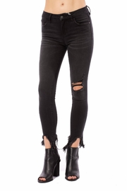Hidden Jeans Amelia Mid-Rise Distressed - Product Mini Image