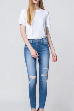 Flying Monkey Mid-Rise Distressed Skinny-Jean - Product List Image