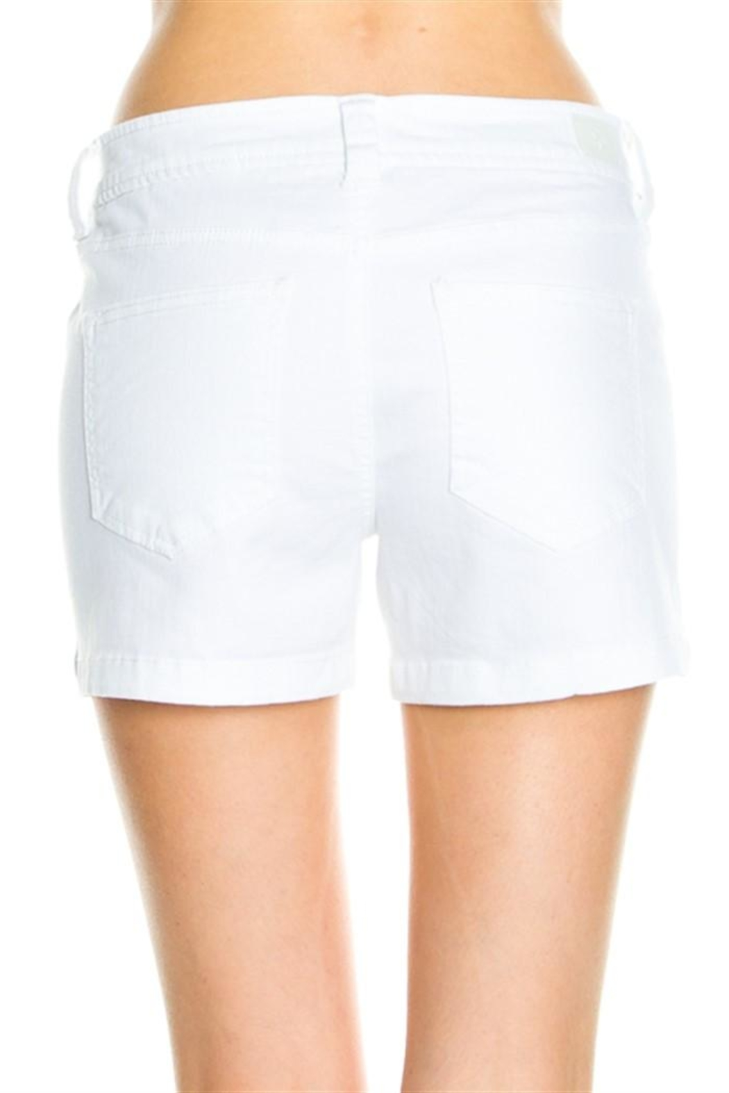 Cello Mid Rise Shorts - Front Full Image