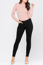 Judy Blue Mid-Rise Skinny - Front cropped
