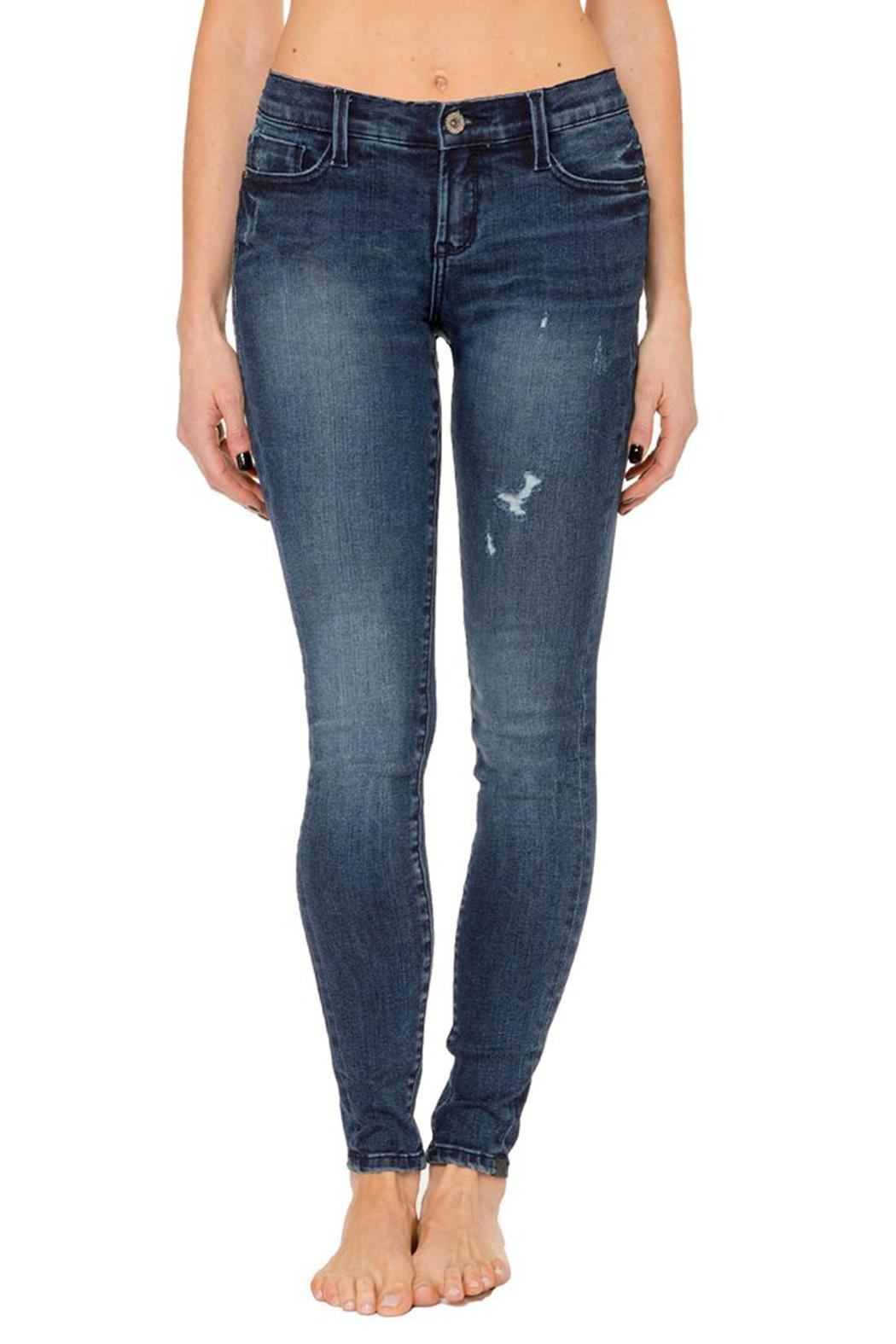Nancy Rose Mid-Rise Skinny Jean - Front Cropped Image