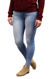 Judy Blue Mid Rise Stretch Light Wash Jeans - Product Mini Image