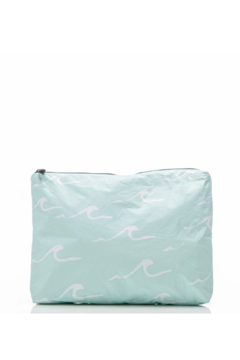 Aloha Collection Mid Seaside Pouch in LeMU Blue - Product List Image
