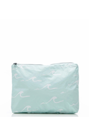 Aloha Collection Mid Seaside Pouch in LeMU Blue - Product Mini Image