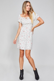 MinkPink Mid-Summer Dotted Dress - Product Mini Image