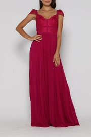 Jadore Middleton Gown Fuchsia - Product Mini Image