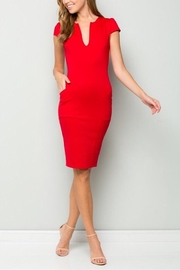 Lette Midi Bodycon Dress - Product Mini Image