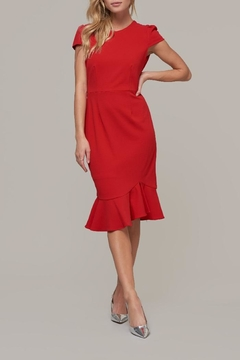 ABS Allen Schwartz Midi Capslv Dress - Product List Image