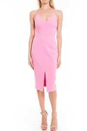 LIKELY Midi Cocktail Dress - Front cropped