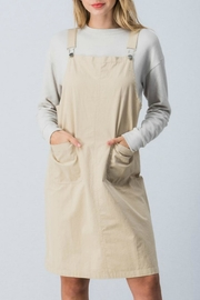 My Beloved Midi Overall Dress - Product Mini Image