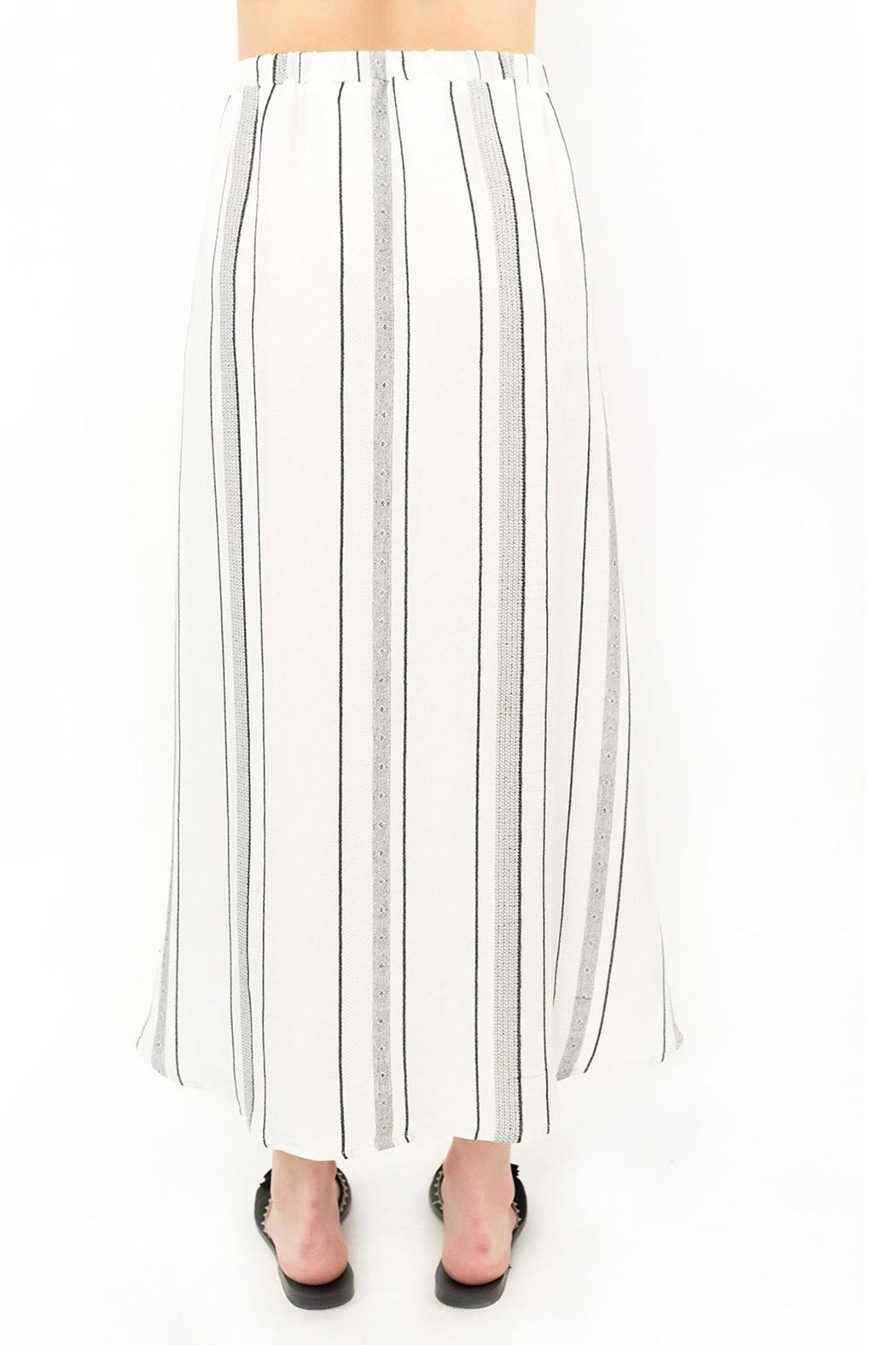 Saltwater Luxe Midi Skirt - Front Full Image