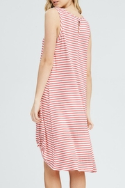 ee:some Midi Striped Dress - Front full body