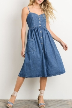Gilli USA Midi Sweetheart Dress - Product List Image