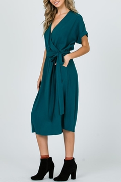 Ces Femme Midi Wrap Dress - Alternate List Image